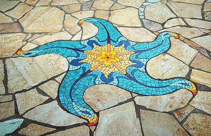 Unikátne kreácie z mozaiky... Viac na: Kupelnovy-manual.sk