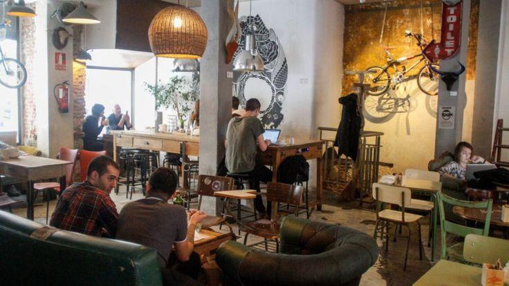 La Bicileta Café en Madrid   Slow Food