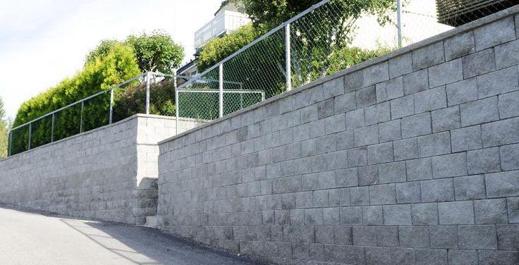 Knekt Støttemur Aaltvedt mur