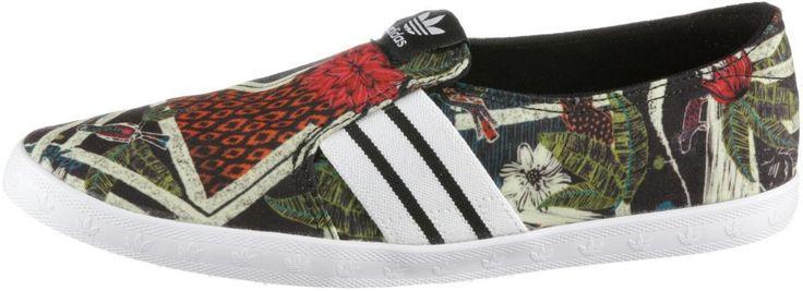 #adidas #Adria #PS #Slip-On #Slipper #Damen #schwarz/bunt -