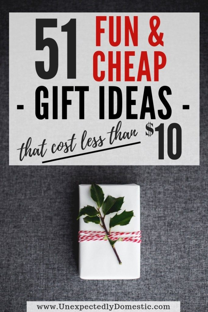 51 Cheap Creative Gift Ideas Under 10 That People Actually Want Christmas Gifts For Coworkers Inexpensive Christmas Gifts Cheap Christmas Gifts