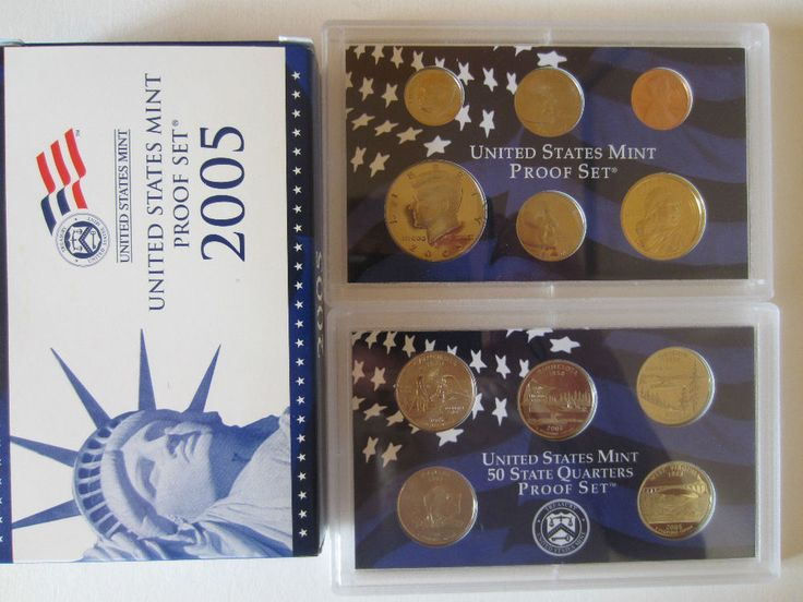 Best US Mint Coin Set Images On Pinterest Ps Coins And San - Complete 50 state quarter set