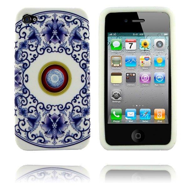 Porcelain (Design 8) iPhone 4 Deksel