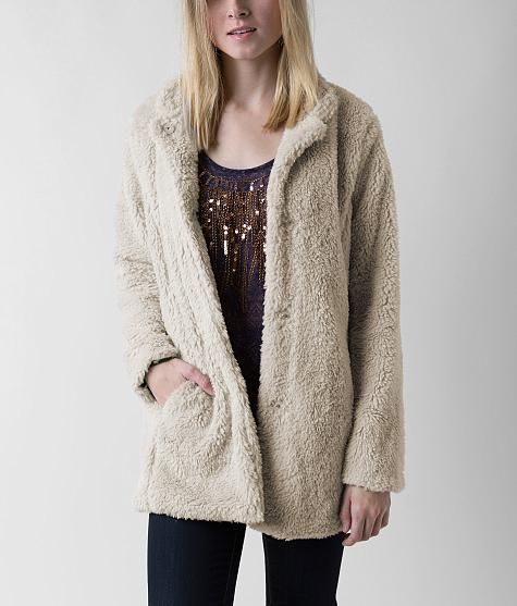 Madden Girl Faux Fur Jacket