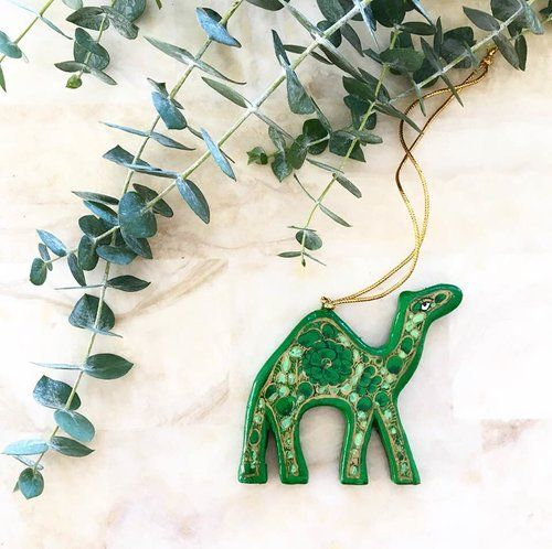 The Jamal Ornament The Haathee Ornament #papiermaché #papiermachéornament #papiermachéchristmas #handmadeornament #kashmiriart #kashmirpapiermaché #papiermachéindian