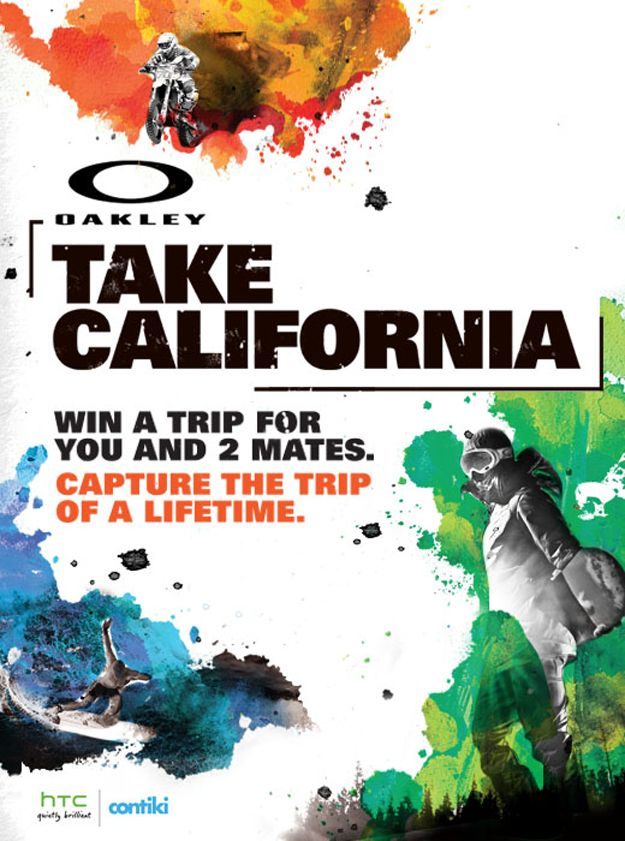#Oakley Take California