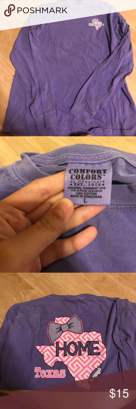Long sleeve tshirt Never worn! Perfect tee girly girl originals Tops Tees - Short Sleeve