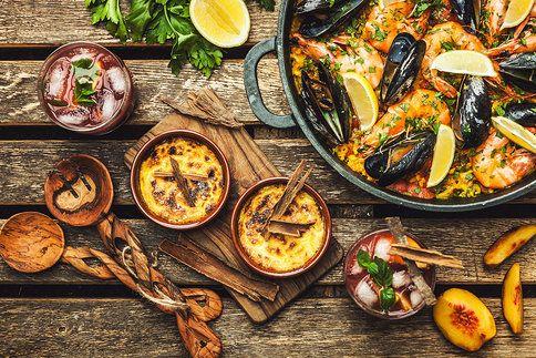 Prosluněné recepty ze Španělska: pochutnejte si na paelle, tradiční sangríi i dezertu