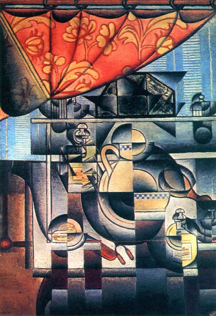 The Athenaeum - The Wash Stand (Juan Gris - )