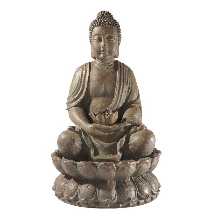 17 meilleures id es propos de fontaine bouddha sur pinterest jardin bouddha d coration de for Decoration jardin bouddha