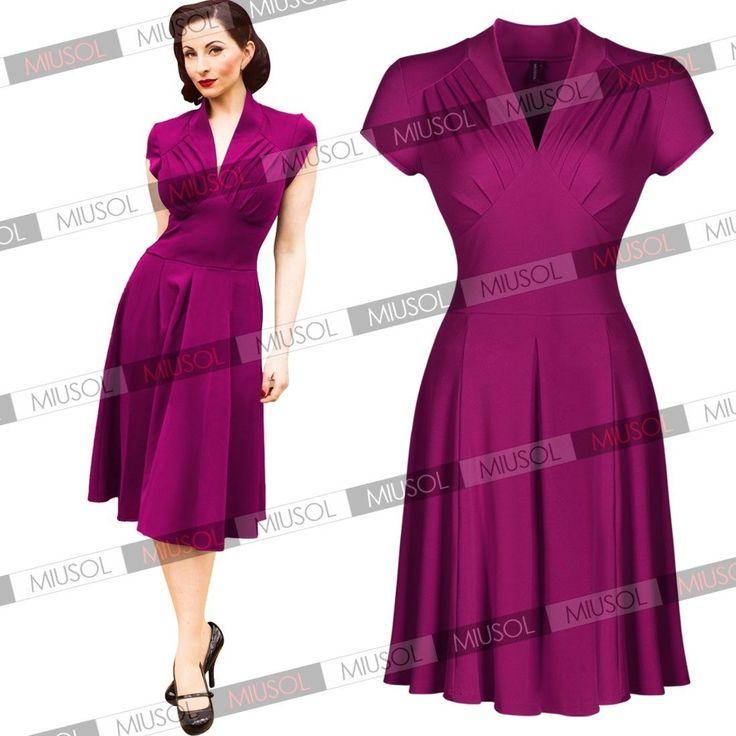 Hermosa Vestido De Cóctel 1940 Ideas Ornamento Elaboración ...