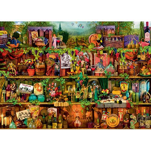 Vintage fun in a jigsaw (NEW in 2016)