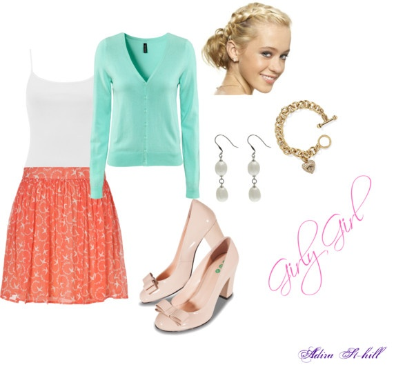 """""""Girly Girl"""" by adira-99 on Polyvore"""