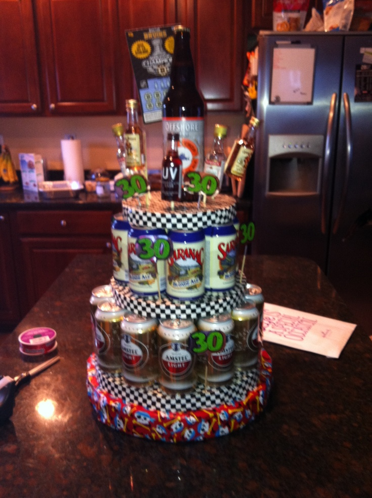 30th Beer cake!