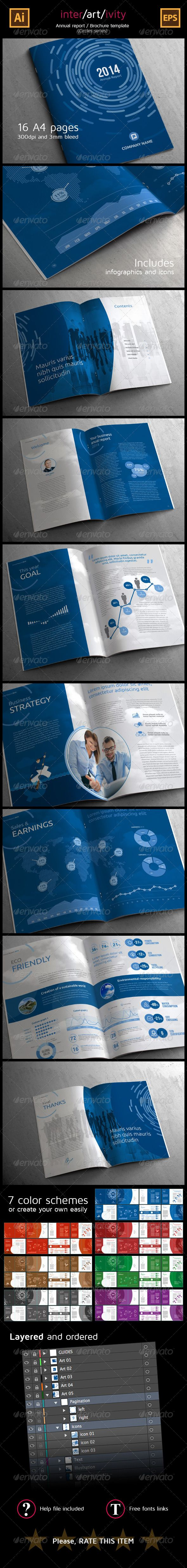 Corporate Annual Report (Circles Series) - Corporate Brochures