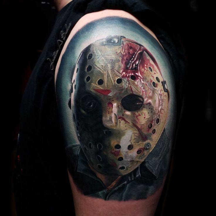 Friday the 13th horror tattoo jason friday jason voorhees