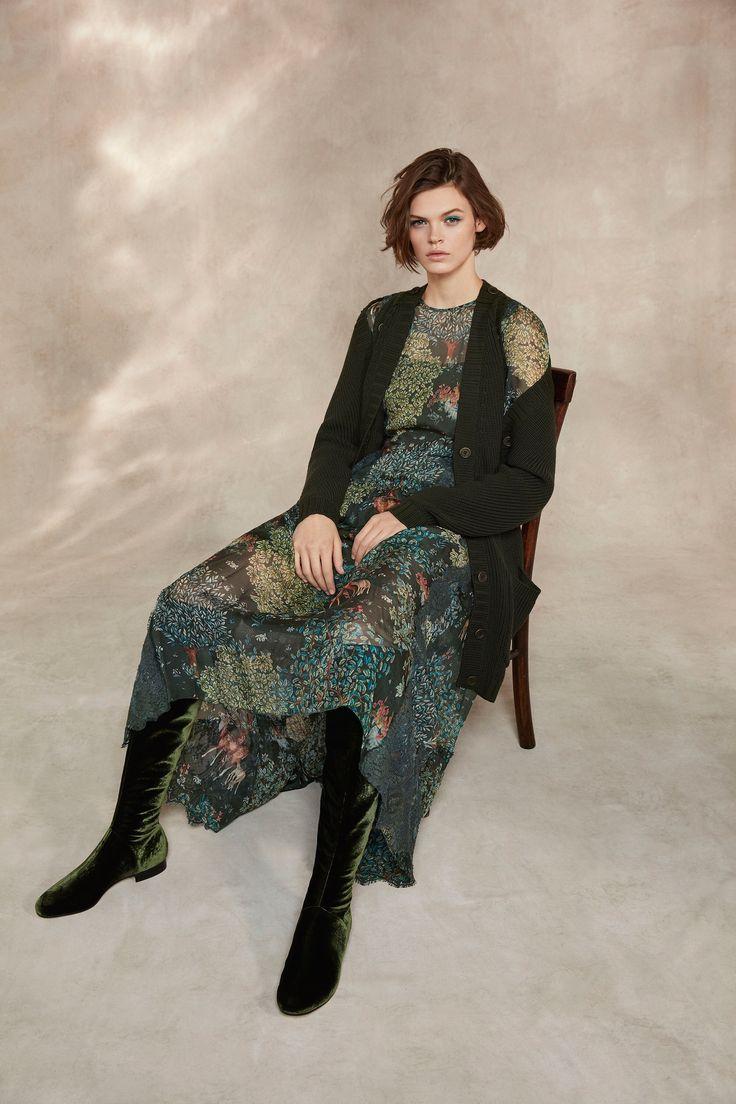 Alberta Ferretti Pre-Fall 2018 Fashion Show Collection