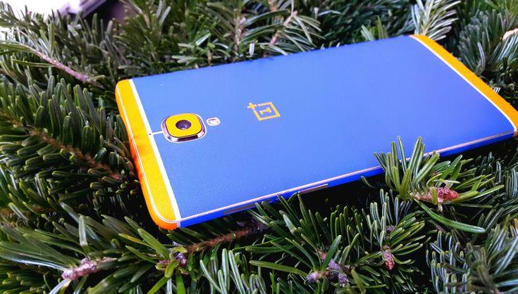 Folii Carbon 3M Matt Blue & Orange Oneplus 3