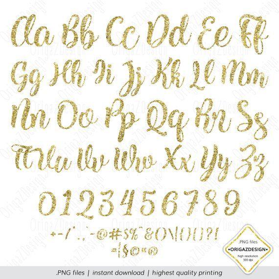 Gold Glitter Alphabet Glitter Letters Gold Glitter Sparkle Etsy In 2021 Glitter Letters Alphabet Clipart Lettering Alphabet