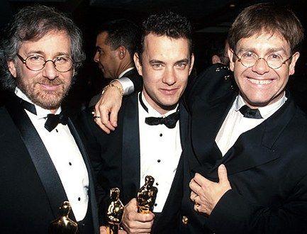 Steven Spielberg, Tom Hanks, Elton John