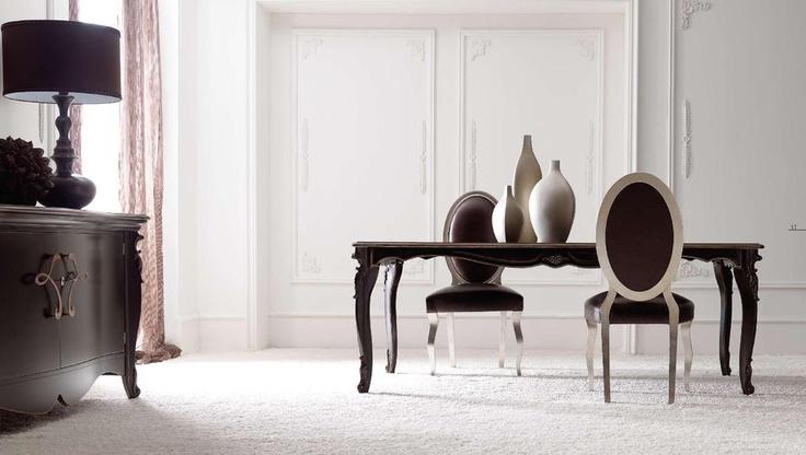 Tradiční italský nábytek do jídelny od #Corte Zari http://www.saloncardinal.com/galerie-corte-zari-9e1
