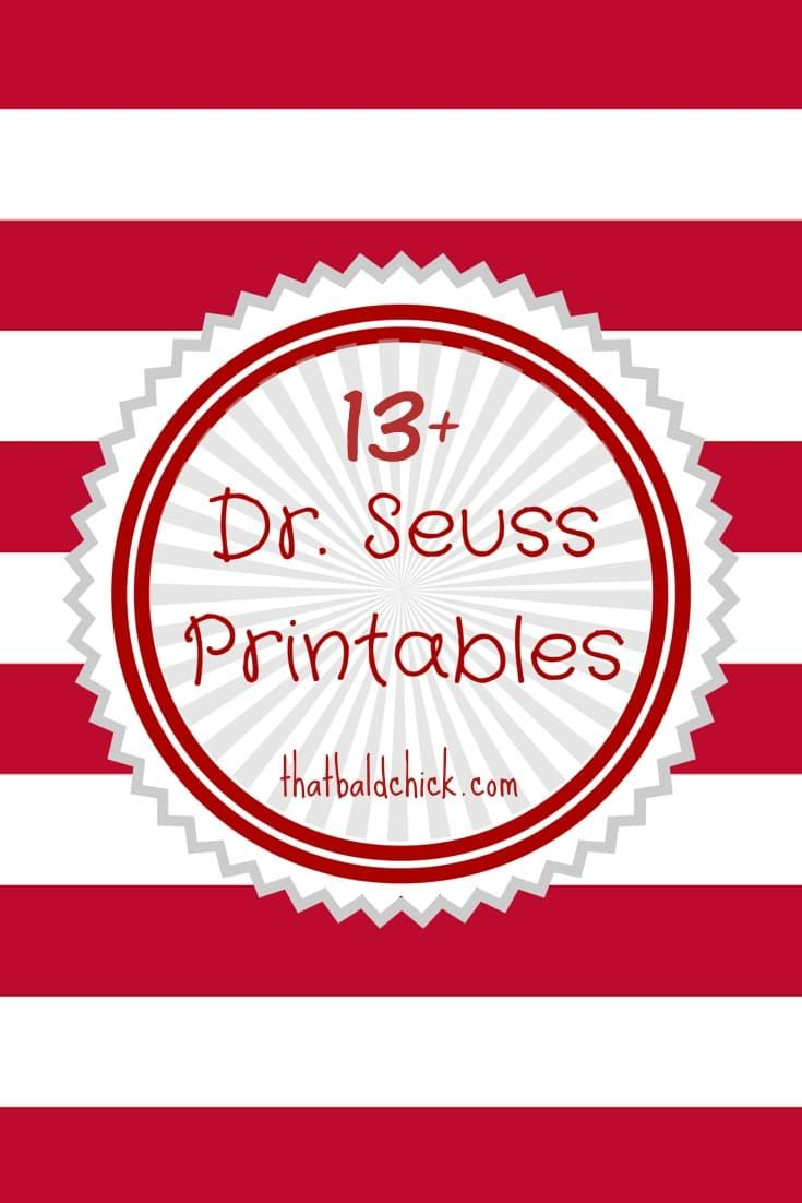 worksheet Dr Seuss Worksheets Free best 25 dr seuss printables ideas on pinterest free printable bookmarks plus list of 13 more you will love