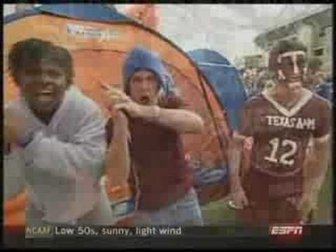 College Gameday at the Texas A vs. Sooners Game in 2006...AND THEY'RE BACK!!  Gameday Crew in C.S. this weekend for A and M's first SEC matchup!!  I was at this 2006 game...Aggies BTHO OU!!  Let's do it again, Ags!! #game_day
