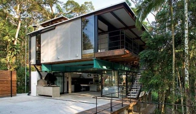 Tropical Minimalist Home Design