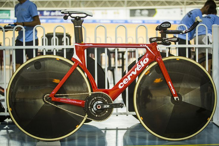 Bridie O'Donnell's Cervelo T4 World Hour Record