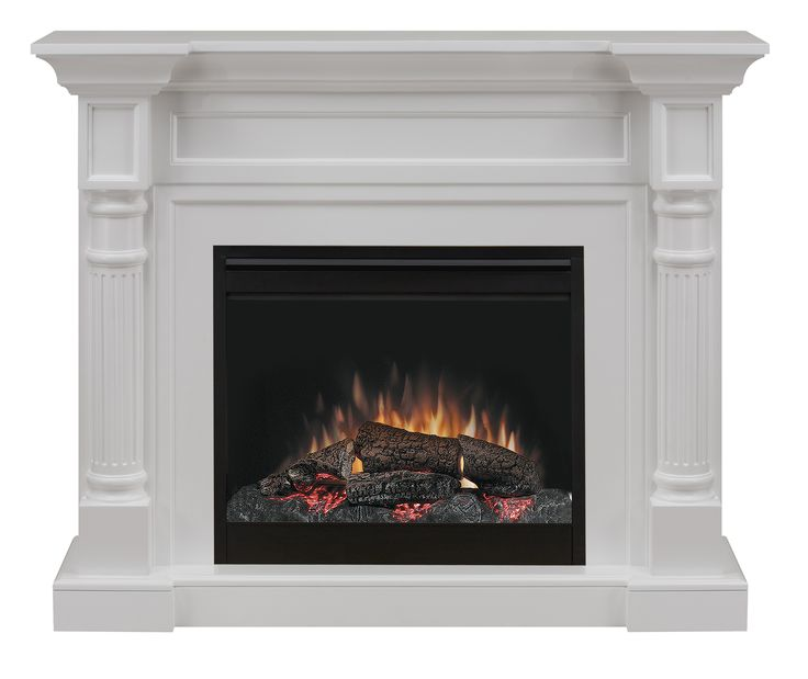 Bring the traditional styling home with the Dimplex Winston electric heater. This complete fireplace suite features the Electraflame technology with log effect for a realistic flame allure without the hassles of a woodfire.