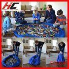 EGC630 Portable Kids Children Infant Baby Play Mat Large Storage Bags Toys Organizer Blanket Rug Boxes Toy Storage Bag