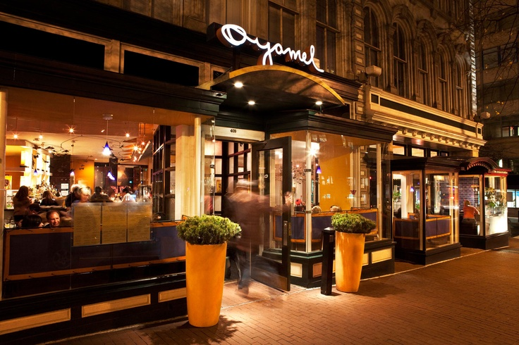 Famous chef José Andrés founded this concept restaurant which features unique Mexican small plates, ceviches, tacos, margaritas, wines and tequilas. Oyamel brings the atmosphere of Mexico City to DC's Penn Quarter.