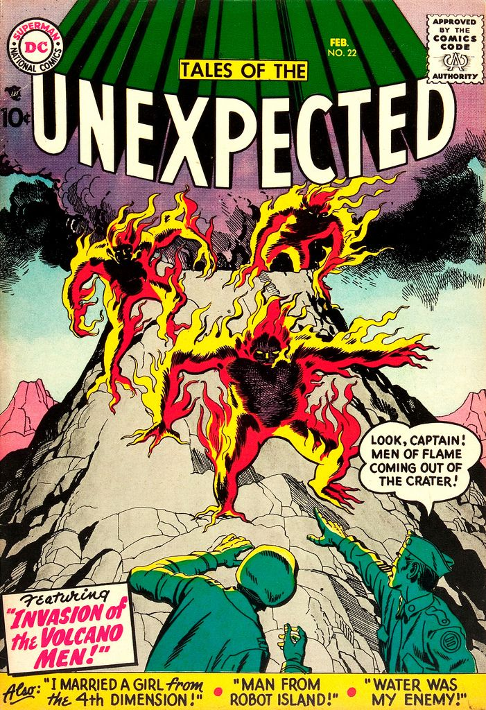 Tales of the Unexpected Comic Book Covers