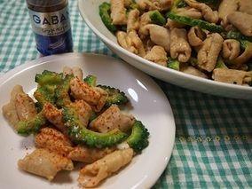 夏バテ解消★白もつとゴーヤのスタミナ炒め|レシピブログ