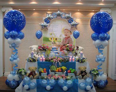 decoracion de globos para fiestas infantiles de frozen , Buscar con Google