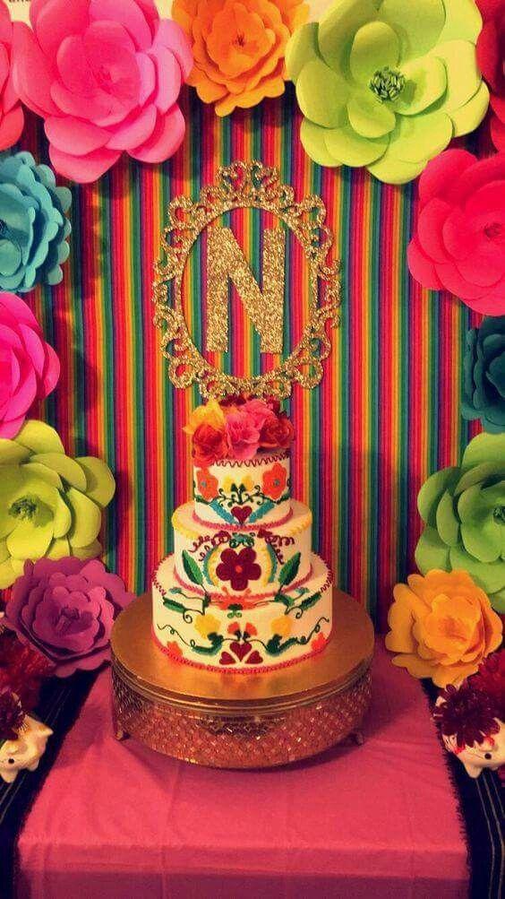 Dia De Los Muertos Cake Decorations