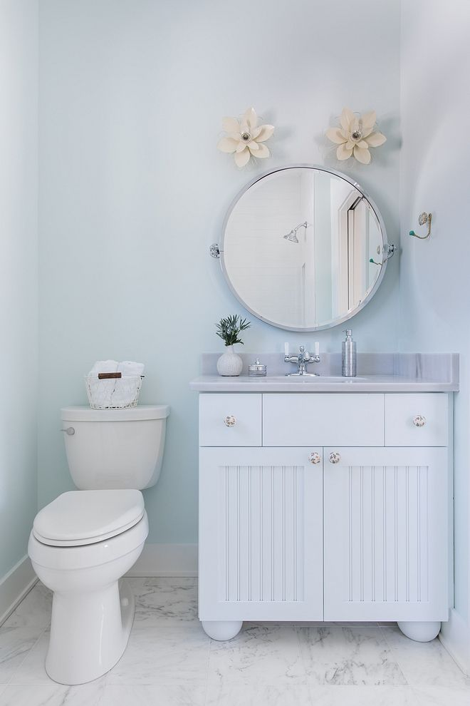 Sherwin Williams Glimmer Soft Blue Bathroom Paint Color Sherwin Bathroom Paint Colors Sherwin Williams Small Bathroom Paint Room Paint Colors Sherwin Williams