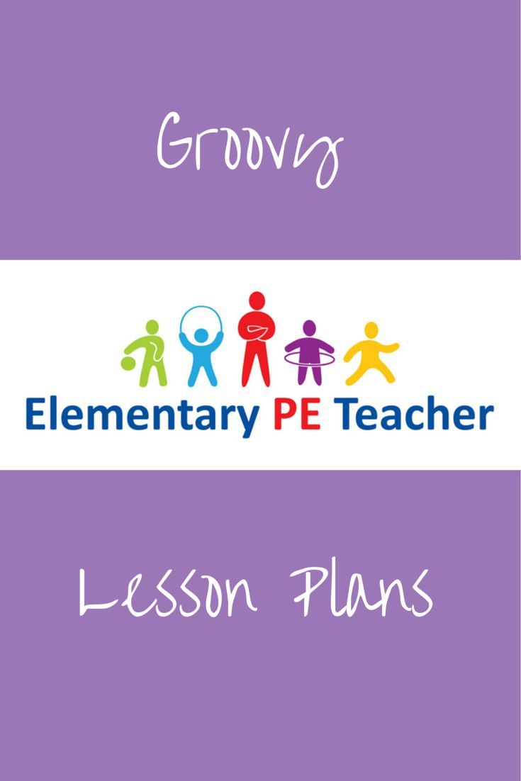 Groovy Fun PE Lesson Plans!!