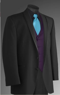 purple and turquoise wedding tux - Google Search