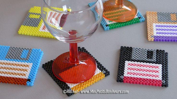 cadeau original fete des peres bricolage perles hama