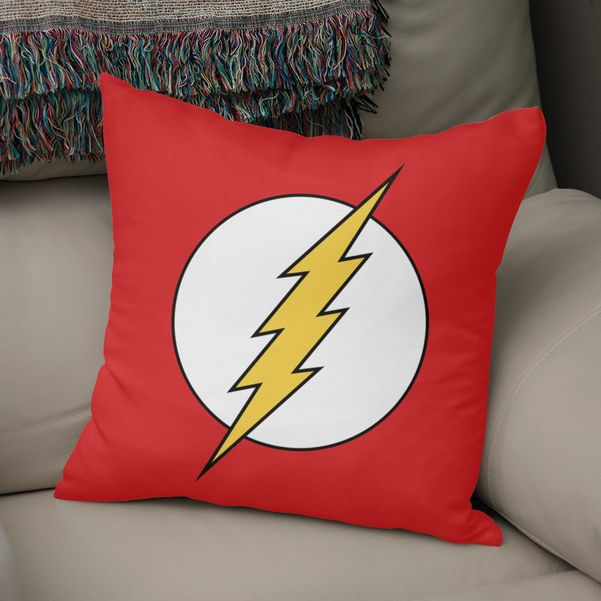 Faster Than The Flash Throw Pillow By Steffen Remter Exclusive Edition From 29 5 Curioos In 2021 Superhero Room Decor Throw Pillows Superhero Room