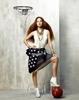 Lee Hyori for Original Jeremy Scott | Vogue Korea | Timodelle Magazine