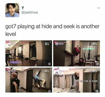 Everyone at Jyp have ninja skills when it comes to hide and seek, at least the boys.