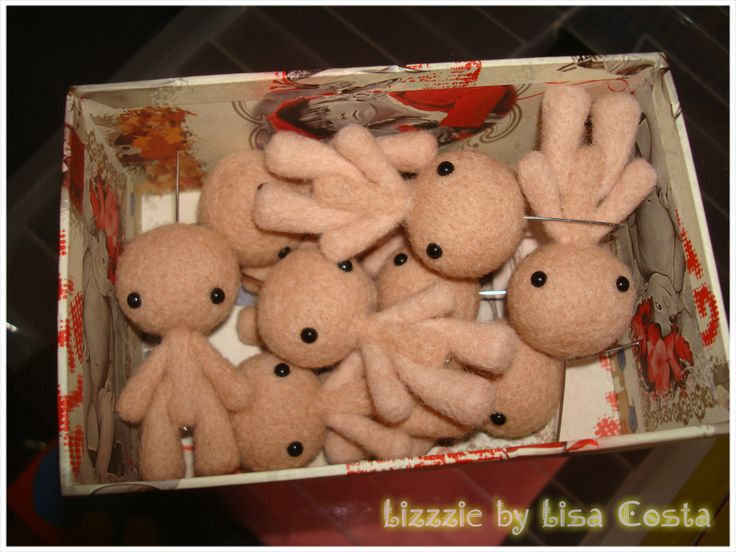 An army of small dolls!!!