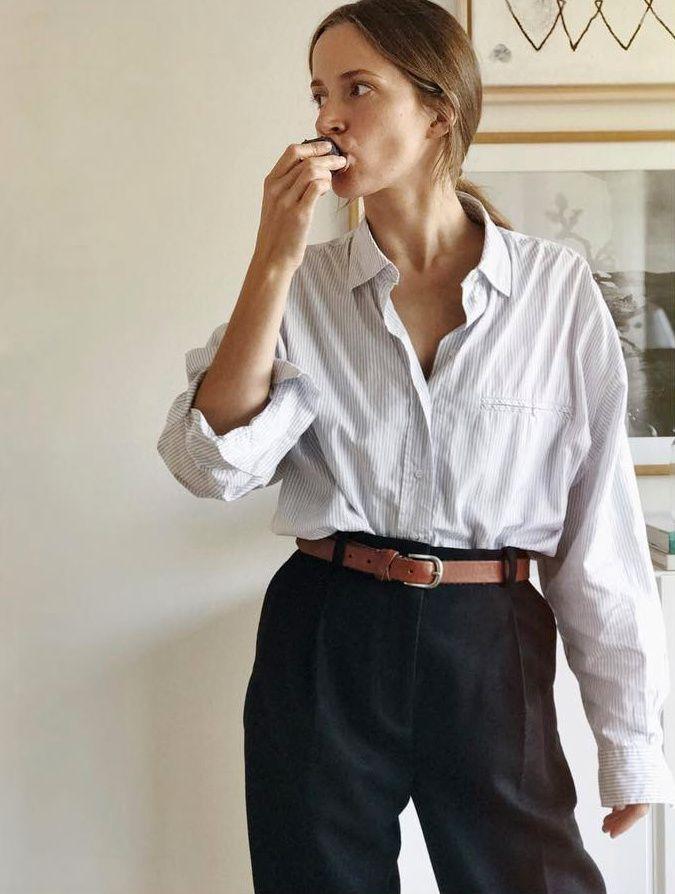Les habits d'homme, ou comment lier nonchalance et style (photo Emma Elwin)