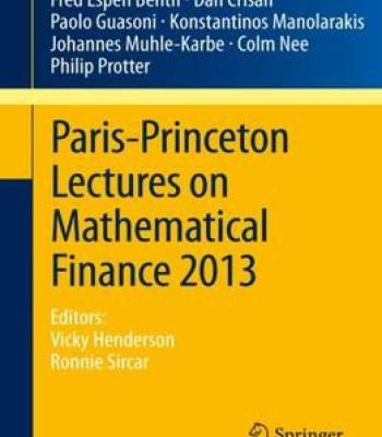 Best 25 mathematical finance ideas on pinterest credit card paris princeton lectures on mathematical finance 2013 pdf fandeluxe Images
