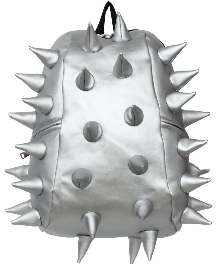 Mad Pax funky spike silver bag for kids and adults. Cool backpack. School bag. Celebrity style