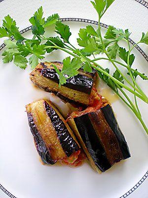 Zeytinyağlı Patlıcan Dolma