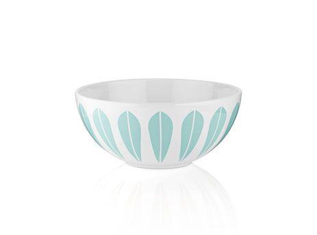 Lotusbolle hvit/lyseblå medium - http://www.fjeldborg.no/nettbutikk/lotusboller/lotusbolle-hvit/lysebla-medium/