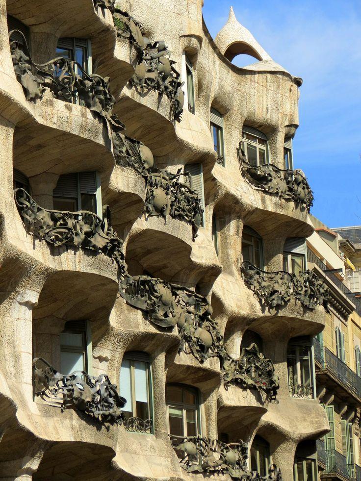 448 best Peter Casa Mila images on Pinterest  Gaudi Barcelona city and Barcelona spain